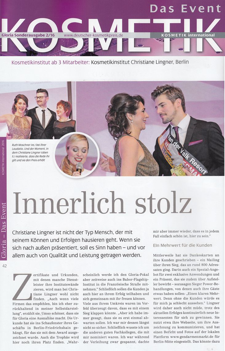 20170401 KOSMETIK-international Das-Event-Sonderausgabe Christiane-Lingner 1